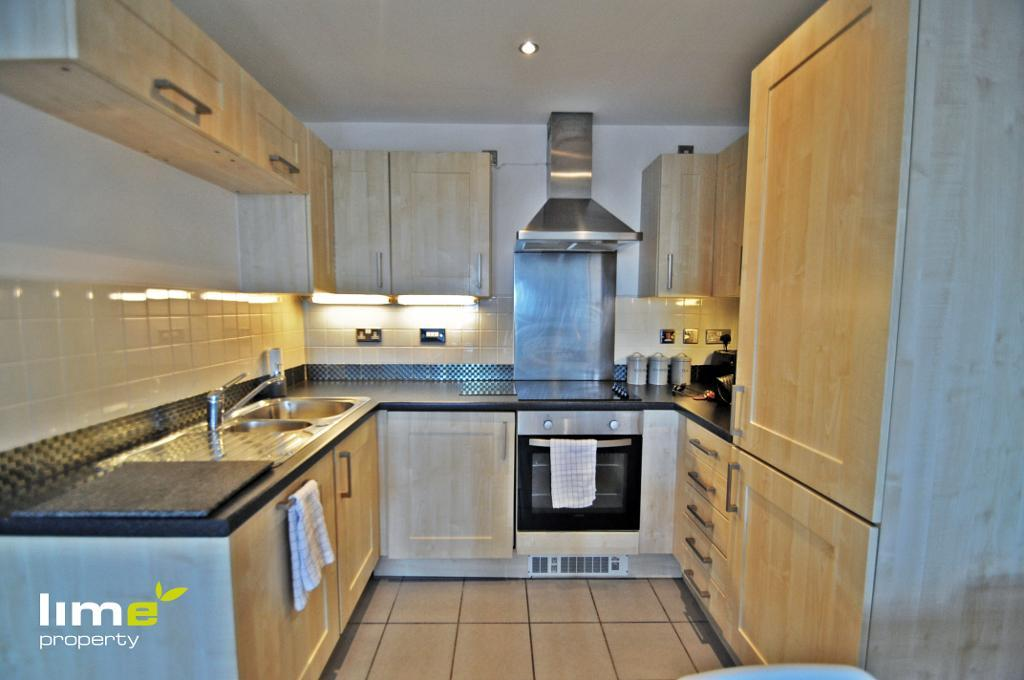 2 Bedroom Luxury Apartment in Queens Court, BBC Building, Hull, HU1 3DL